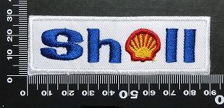シェル SHELL ワッペン パッチ 01675