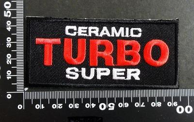 セラミック ターボ ceramic turbo ワッペン パッチ 06601