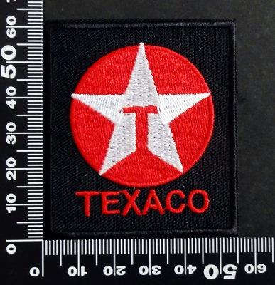 Texaco gasoline ガソリン  ワッペン パッチ  06593
