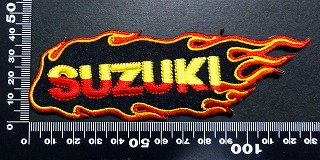 スズキ SUZUKI ワッペン パッチ  06000