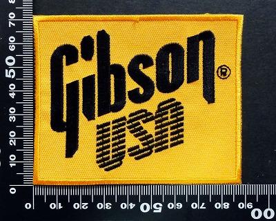 ギブソン GIBSON ワッペン パッチ  07089