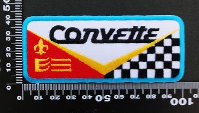 corvette コルベット ワッペン パッチ  06411