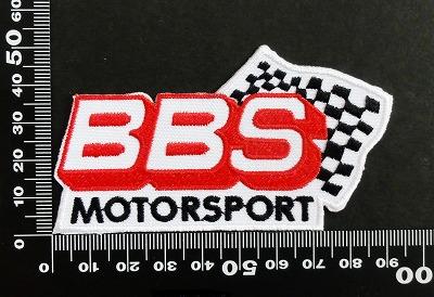 BBS ワッペン パッチ 06608