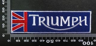 トライアンフ triumph ワッペン パッチ  02026