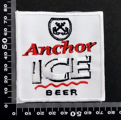 アンカー anchor ワッペン パッチ 06610