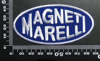 マニエッティ・マレリ (Magneti Marelli ワッペン パッチ 01707