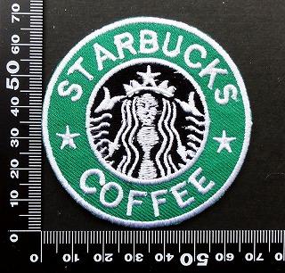 スターバックスコーヒー Starbucks ワッペン パッチ  09796