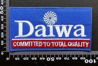 ダイワ DAIWA ワッペン パッチ09521