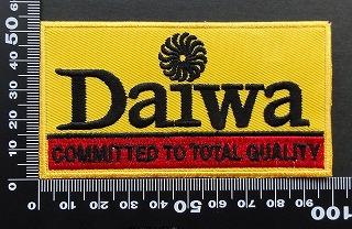 ダイワ DAIWA ワッペン パッチ 09482