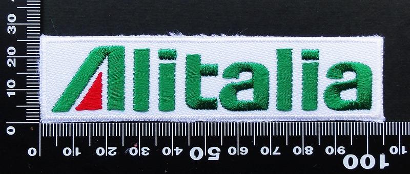 アリタリア 航空 AIR alitalia ワッペン パッチ 09581