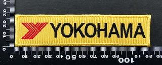 ヨコハマタイヤ yokohama  ワッペン パッチ  09843