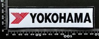 ヨコハマタイヤ yokohama  ワッペン パッチ  09845