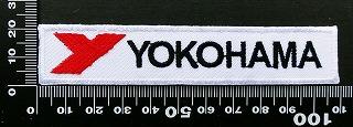 ヨコハマタイヤ yokohama  ワッペン パッチ  09848