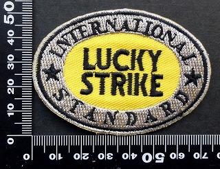 ラッキーストライク Lucky Strike ワッペン パッチ 09715