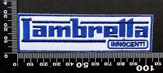 ランブレッタ Lambretta ワッペン パッチ 09713