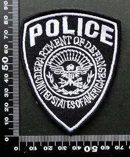 警察 ポリス POLICE ワッペン パッチ  09755