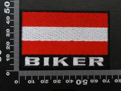 オーストリア 国旗 バイク  ワッペン パッチ00620
