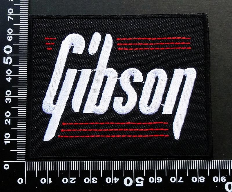 ギブソン GIBSON ワッペン パッチ 09654