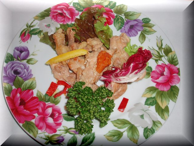 プリップリの歯ごたえがたまらない鶏セセリを柚子胡椒でさっぱり炒めました