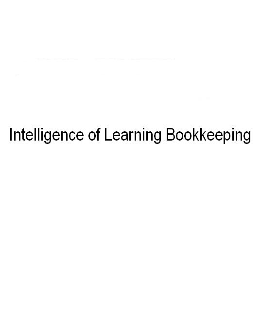 Intelligence of Learning Bookkeeping 34,800円(消費税込み)