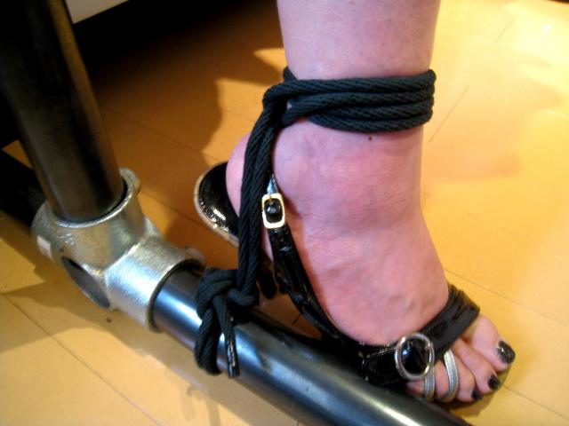 BONDAGE GEARS 黒染め綿ロープ 5m2本
