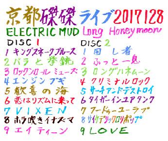 ▲曲リスト