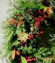 赤色見本※花材はお任せになります。