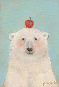 ピースとりんご