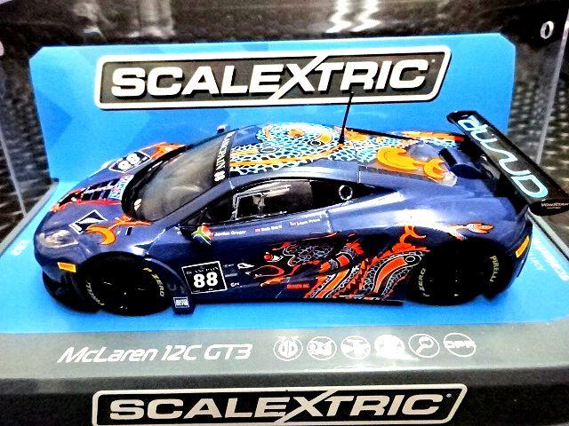 Scalextric Mclaren 12C Gt3 Von Ryan Racing 1:32 Slot Car C3850
