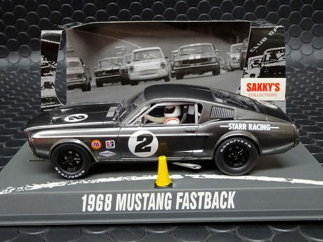Pioneer P061 1968 Mustang Fastback Bare Metal Racer #2