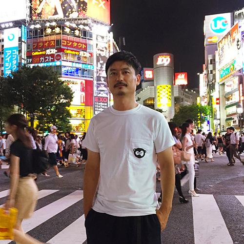 model:Kazuhiro Baba at Shibuya, Tokyo