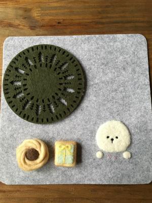 クッキーとマットセット