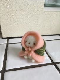 桜餅×ちこちゃんのコラボ