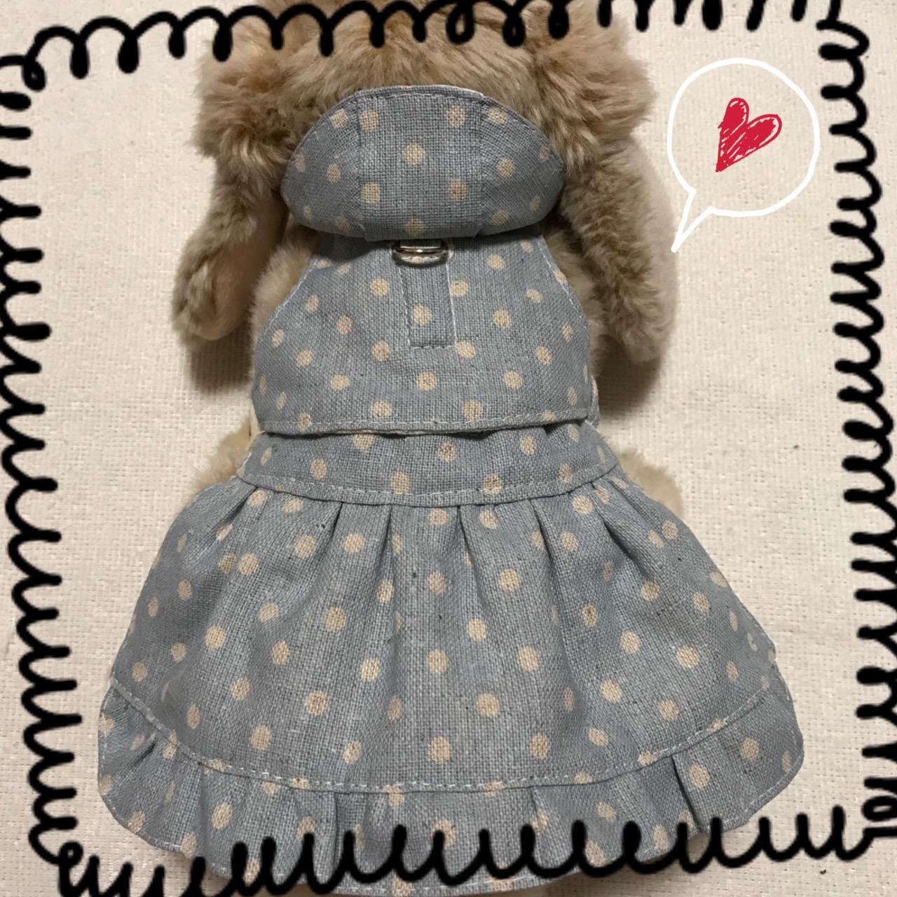 ハーネスにスカートをセットした、しのりんオリジナルのセットアップ商品です。ハーネスのみでも使用できます。スカートは両面リバーシブルで使用できます。おしゃれしたい時はスカートを装着すればいろいろな着こなしができます。