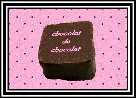 chocolat de chocolat