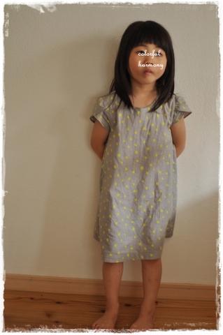99㎝、4歳がサイズ100を着用しています。