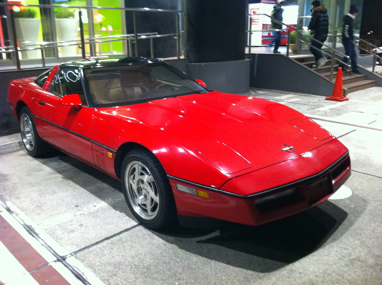 <br>車両情報:<br><br>シボレー コルベット<br>1990年式 C4 ZR-1<br><br>