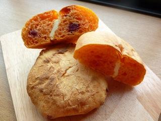 21.クランベリーチーズdeトマトパン
