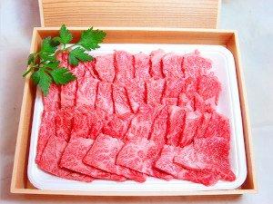 """<font color=""""brown"""" size=""""2""""><b>氷見牛カルビ 焼肉用 レギュラー400g</b></font><br><font color=""""black"""">グルメの里 氷見で育った氷見牛のカルビ肉(3~4人前)です。<br>焼肉に最適!<br>霜降りが入ってお口の中でトロけます。<br>木箱入りですからギフトにもOK!<br>のしが必要な場合はお申し付けください。</font>"""