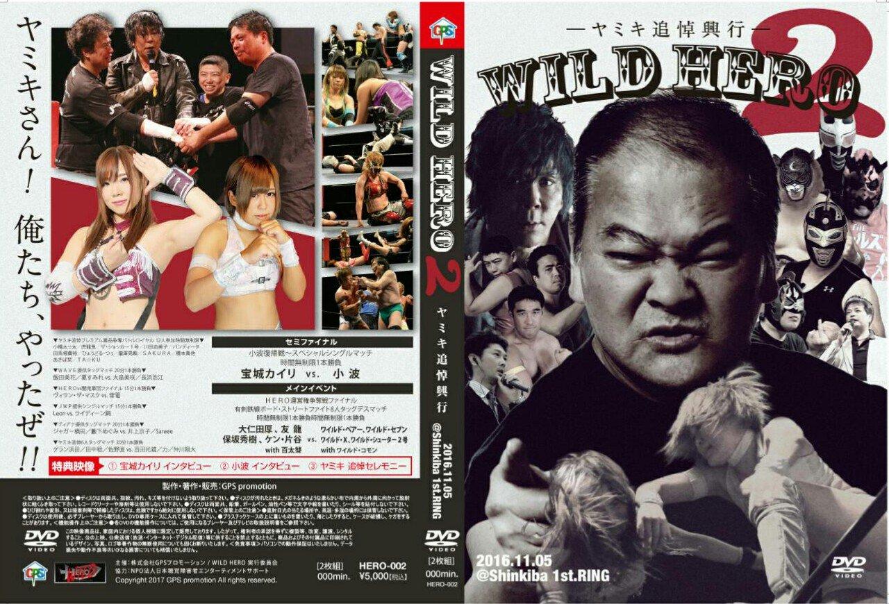 WILD HERO2/DVD