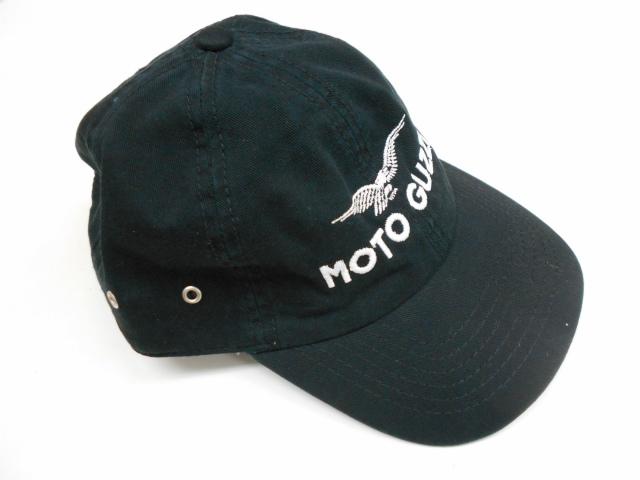 Moto Guzzi 刺繍ロゴ入りコットンキャップ