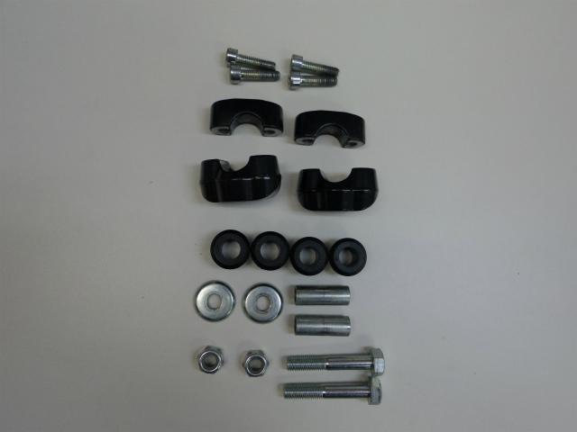 メーカーの供給のの都合により、ボルト、カラー類の色合いが異なる場合が有ります。