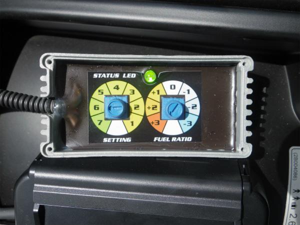 車両側O2センサーに割り込ませるハーネスとセット