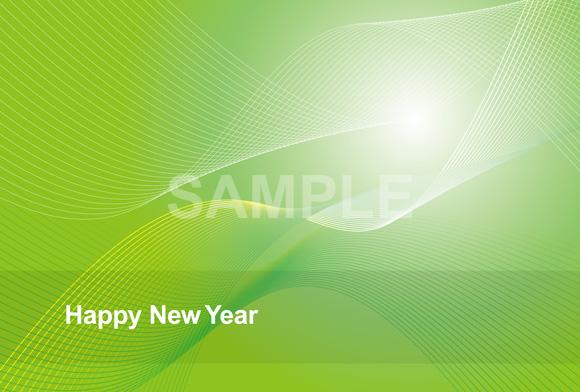 ビジネス 年賀状テンプレート □ファイル形式:【JPG】