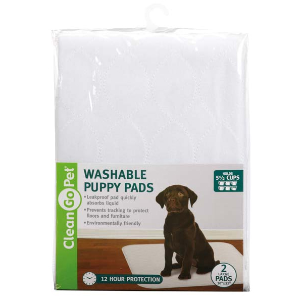 CLEAN GO PET WASHABLE PUPPY PADS