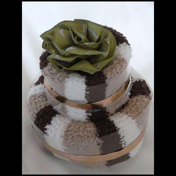 マシュマロソックスレッグケーキ
