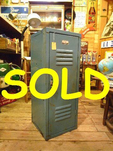 商品番号 r-486 コンディション★★★☆☆ 50's PENCO社 ロッカー 幅30.5cm 高さ79cm 奥行き30.5cm ¥33000(税込) こちらの商品は20000円を超えていますので送料無料です