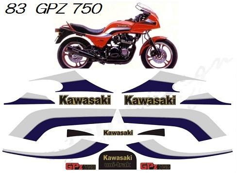 83 GPZ750