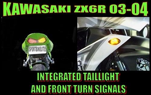 KAWASAKI ZX636 ZX6R B1 B2 ZX600R ZX6RR K1 M1 FRONT LEFT STEP 34028-0002