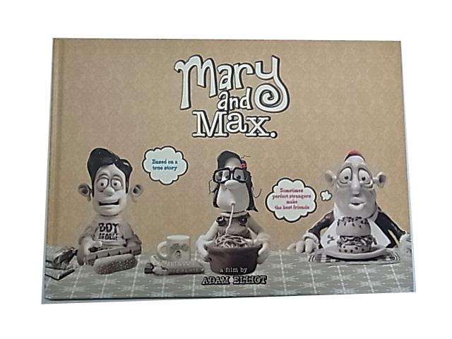 <b>アニメーション映画『メアリー&マックス』劇場パンフレット<b><br />絵本と同じようなハードカバー仕樣。(全34P)18.5cm×26cm<br />巻頭にはピクチャー・ストーリーを収録。その他、監督やプロデューサーのインタビューや山村浩二さんの寄稿文などを収録。